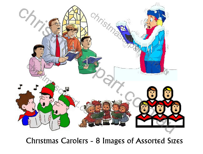 carolers clipart,christmas carolers images,carol singers clipart