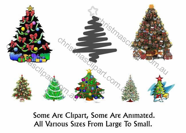 christmas tree clipart. christmas tree clipart
